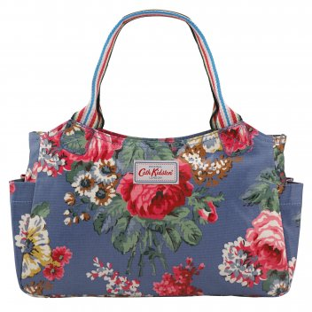 Cath Kidston Blue Bloomsbury Bouquet Day Bag 516372