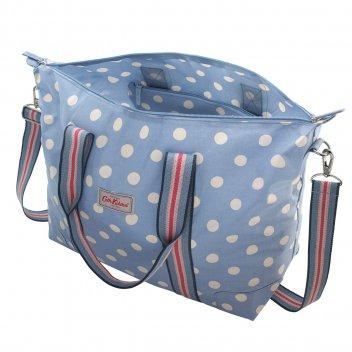 Cath Kidston Button Spot Foldaway Overnight Bag 546041 2566b79f55d92