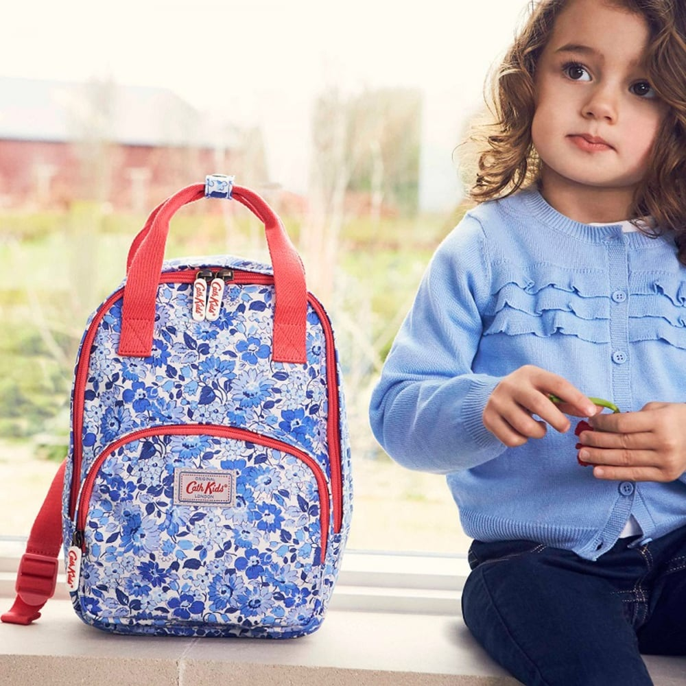 preview of outlet boutique luxury aesthetic Kids Welham Flowers Medium Backpack