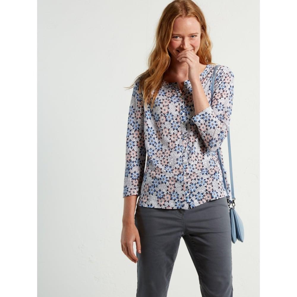 9b89970530a8 Whitestuff Kristina Linen Jersey Shirt 421385