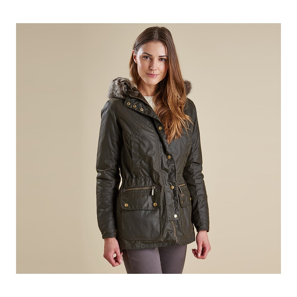 Womens barbour jacket wax