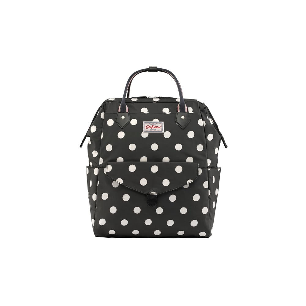 Cath Kidston Button Spot Frame Backpack in Black 713030