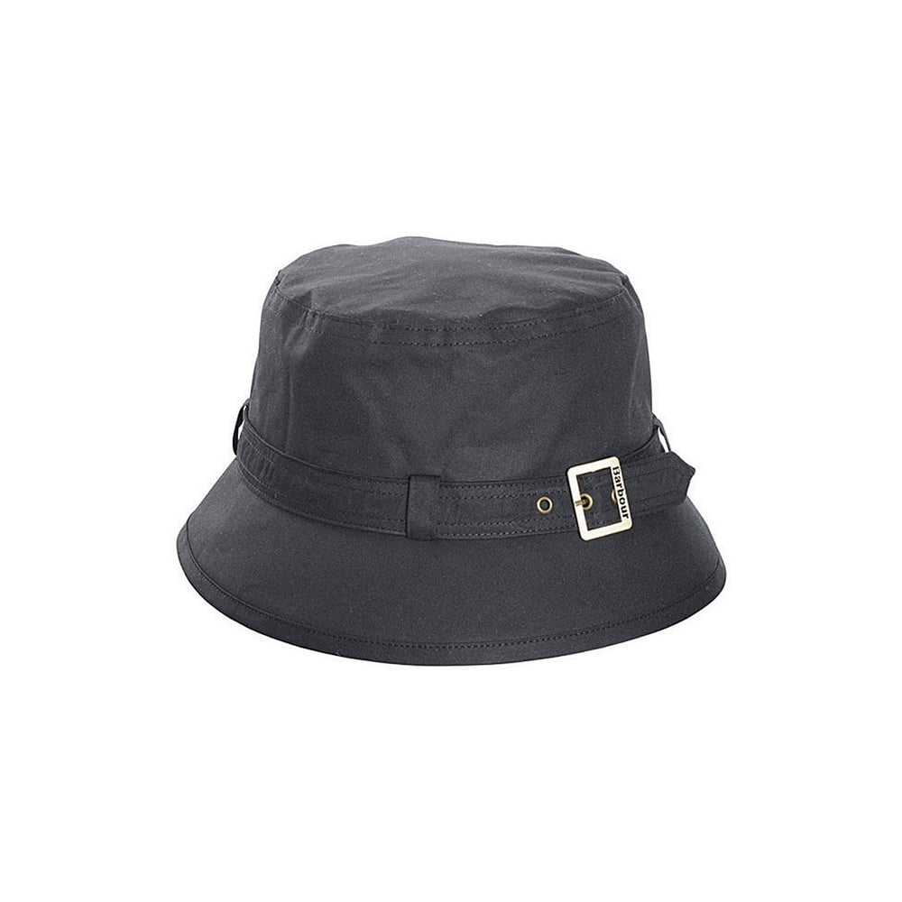 Barbour Barbour Womens Kelso Wax Belted Hat - Black 053319541d75
