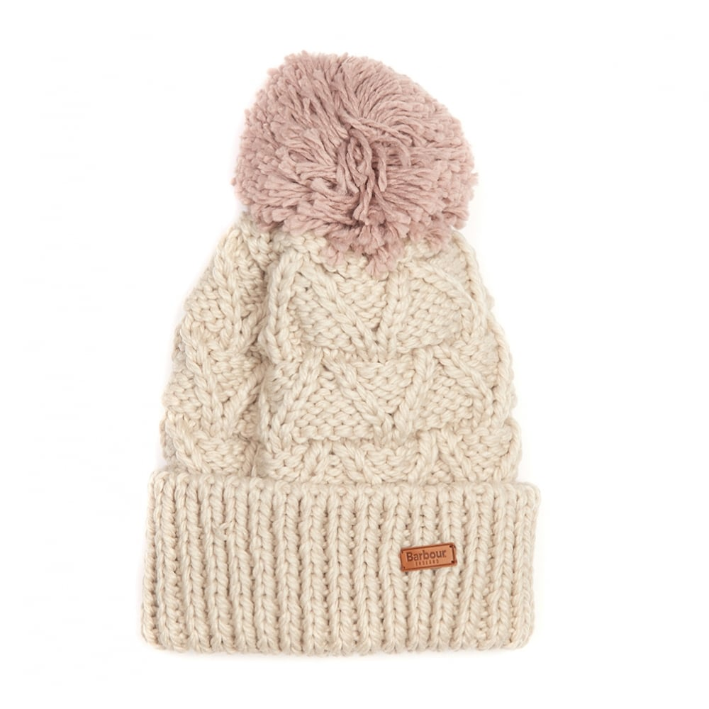 Barbour Womens Cragside Bobble Hat LHA0321 b8f32527402