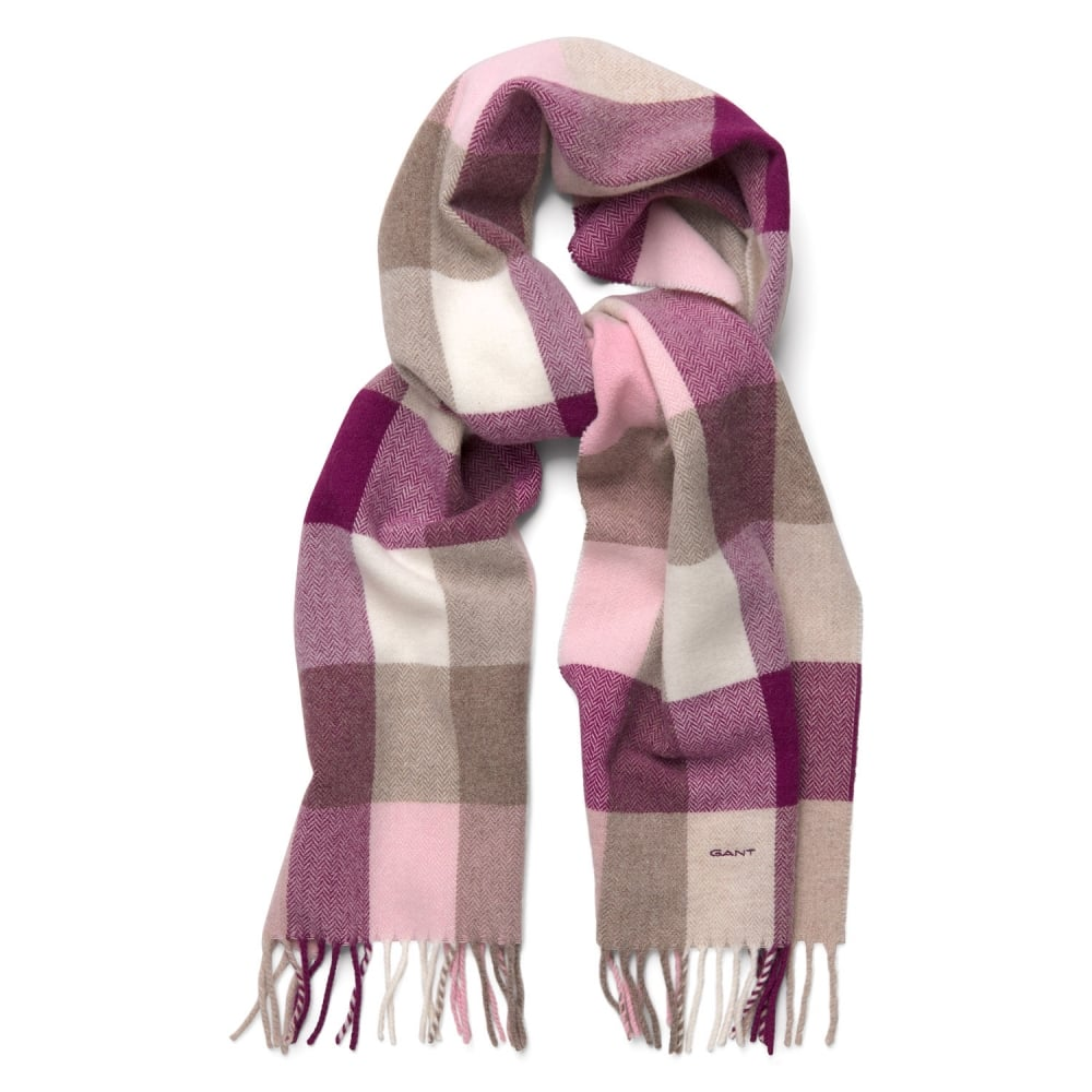 Womens Multicheck Lambswool Scarf 4920028 8ca36185533