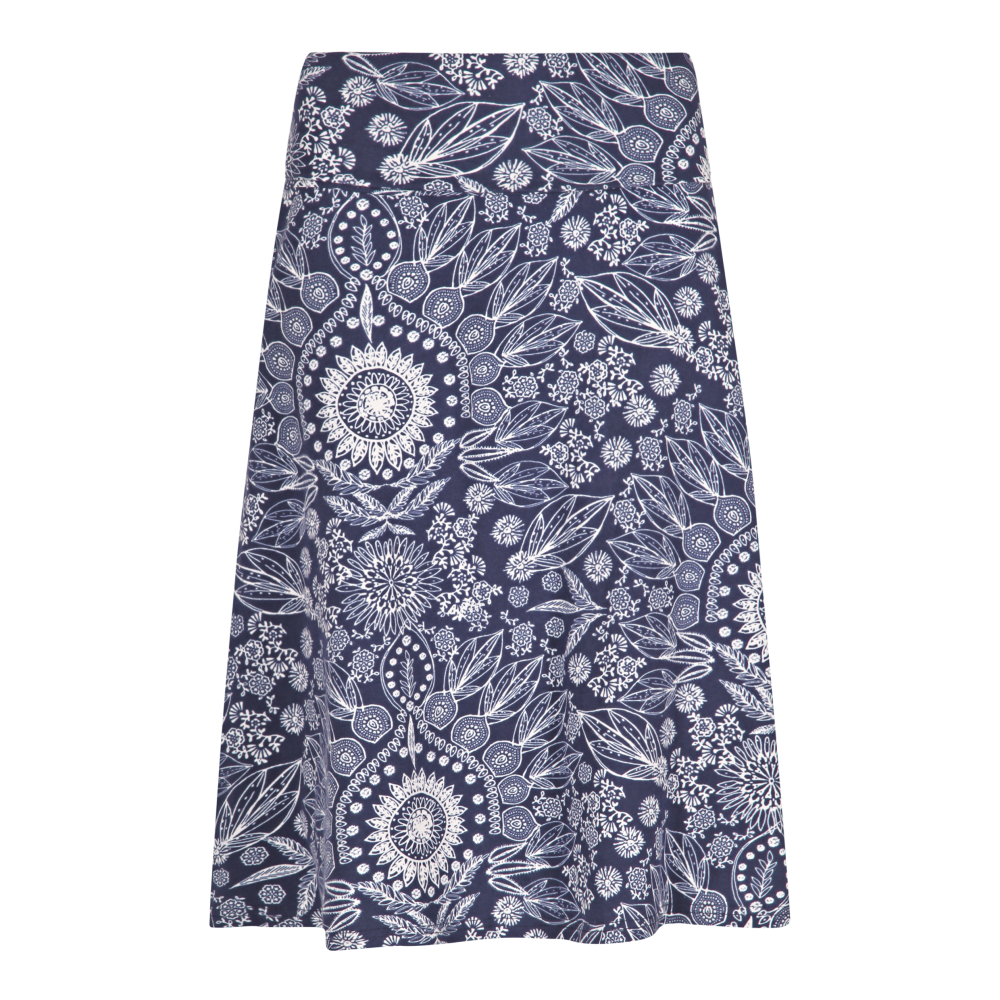 2fe78659cb Weird Fish Malmo Printed Jersey Skirt 10084