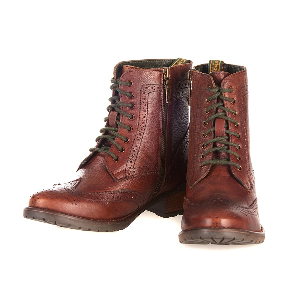 Buy brogue lace up boots ladies cheap