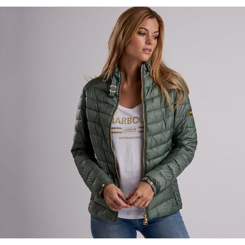 Barbour International Barbour International Women s Triple Quilted Jacket fca1cd1f75c5