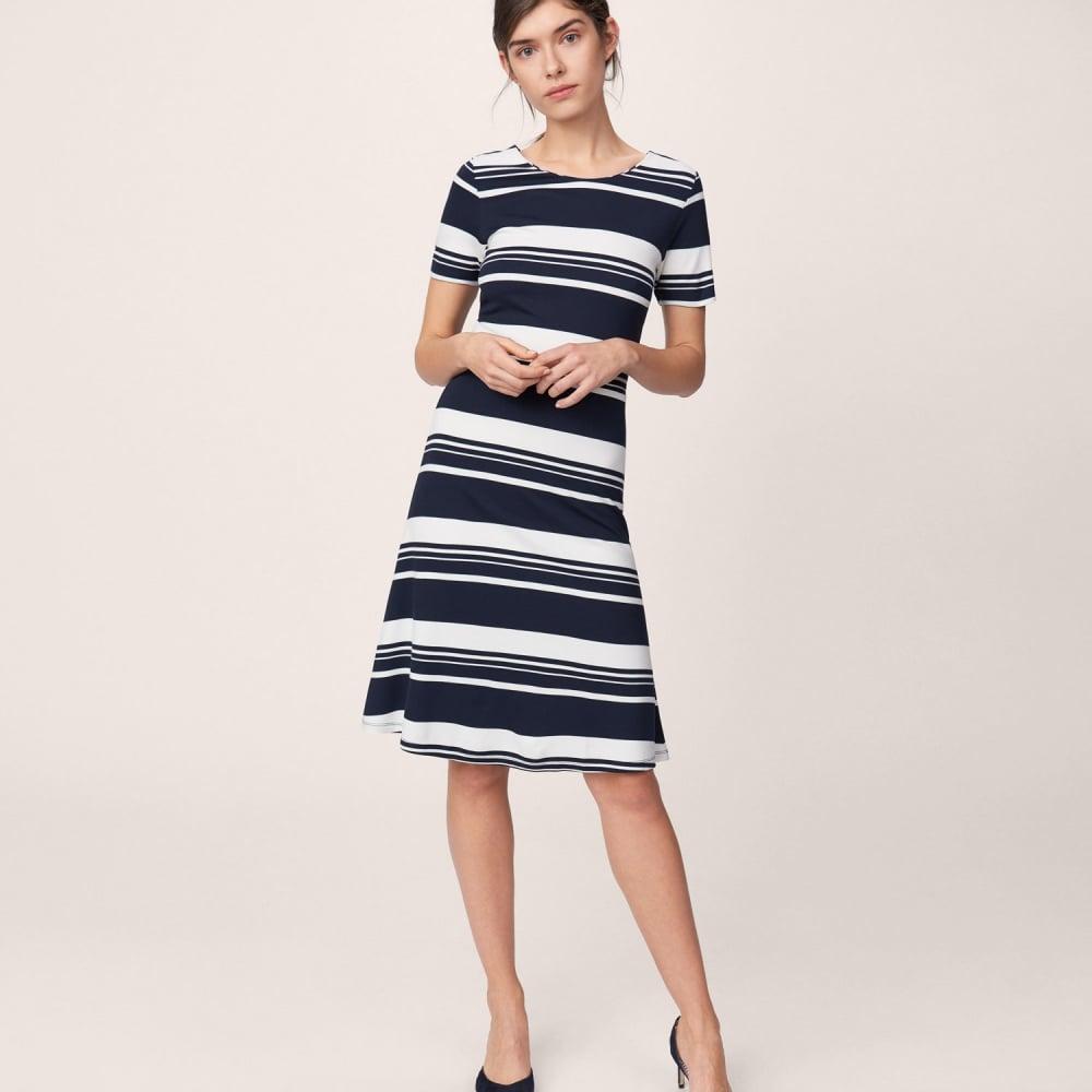 baca488fc57e Women s Striped Skater Dress 4204305
