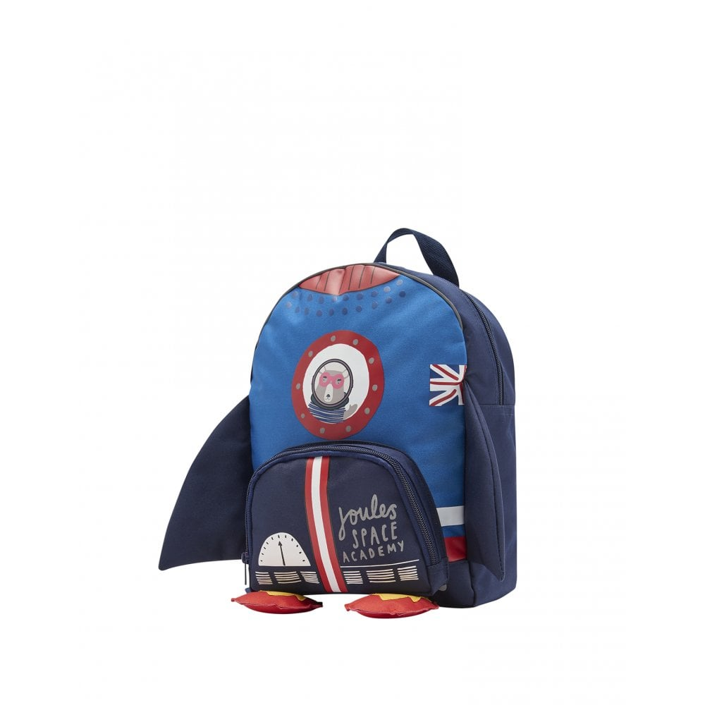 90b16abef9 Joules Childrens Novelty Zippy Rocket Backpack