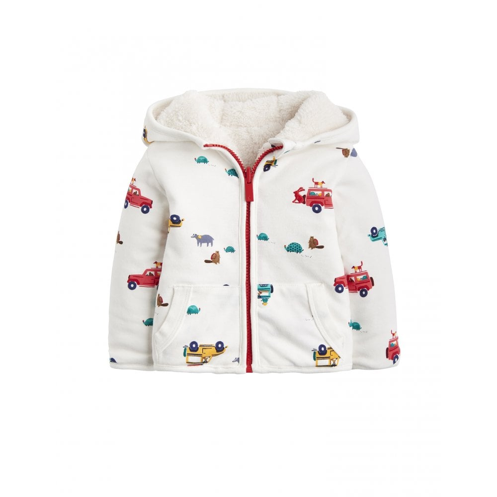 e37e8b84925c Joules Baby James Reversible Zip Up Jacket
