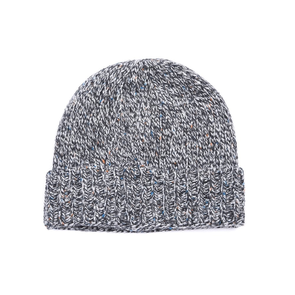 Barbour Barbour Mens Whitfield Beanie - Grey 5e000537ad8