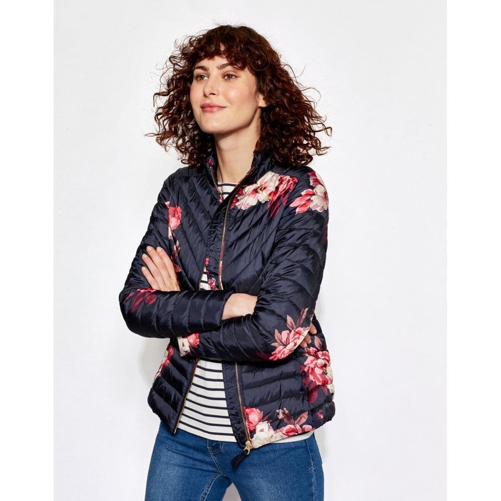 1d200fe3f Elodie Printed Chevron Quilted Jacket