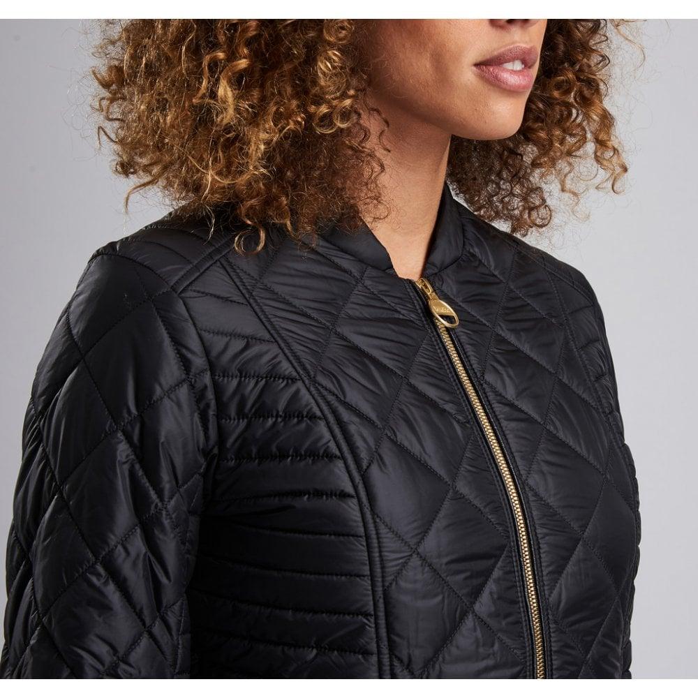 ca7646d80b91 Barbour International Ladies Sprinter Quilted Jacket LQU1022