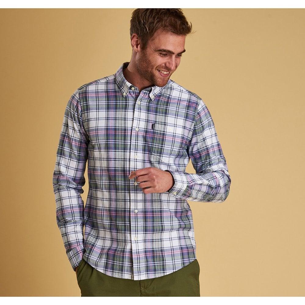 Barbour Mens Oxford Slim Fit Shirt Msh4470
