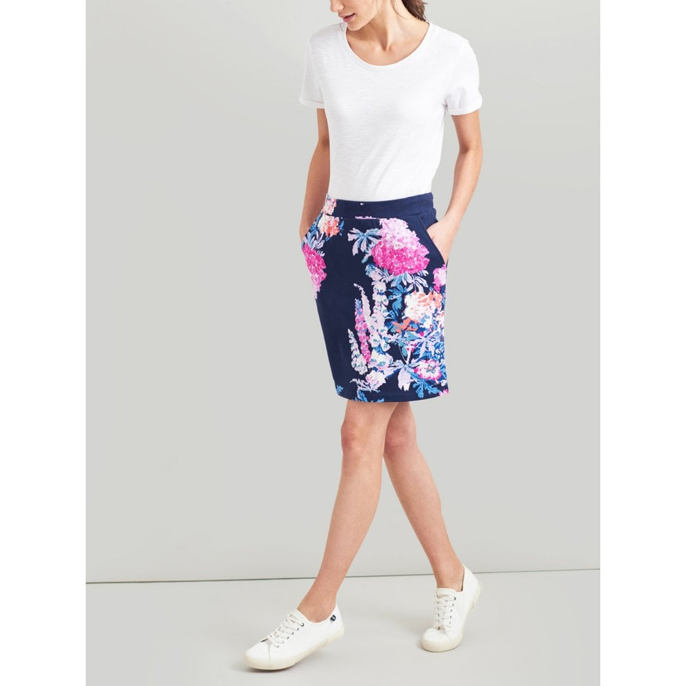 fc602f63d9 Joules Portia Jersey Skirt 205051JOULES