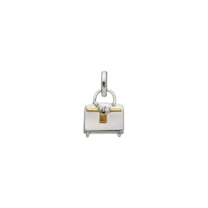 LINKS OF LONDON Sterling Silver Tres Chic Handbag Sweetie Charm ljDOO0