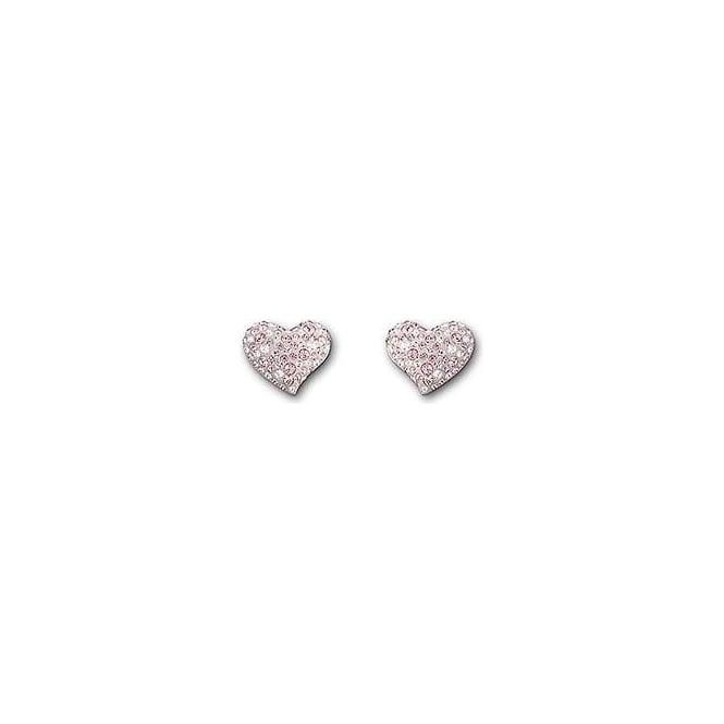 cc8b786c2 Swarovski Alana Light Rose Pierced Earrings | Nicholls Online