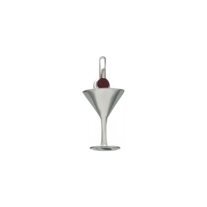 Links of London Cocktail Glass with Cherry Charm