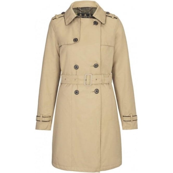 Barbour Ladies Chatsworth Waterproof Trench Coat
