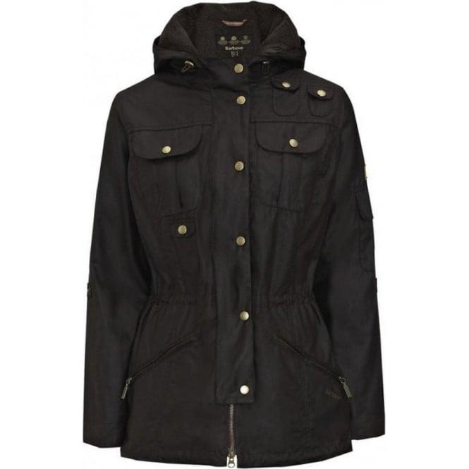 1dc02142dd Barbour Winter Force Parka Jacket LWX0066 Wax coat Rustic Olive