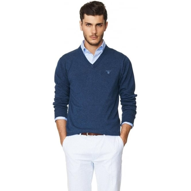 exceptional range of styles best online presenting Lightweight Cotton V-Neck Sweater