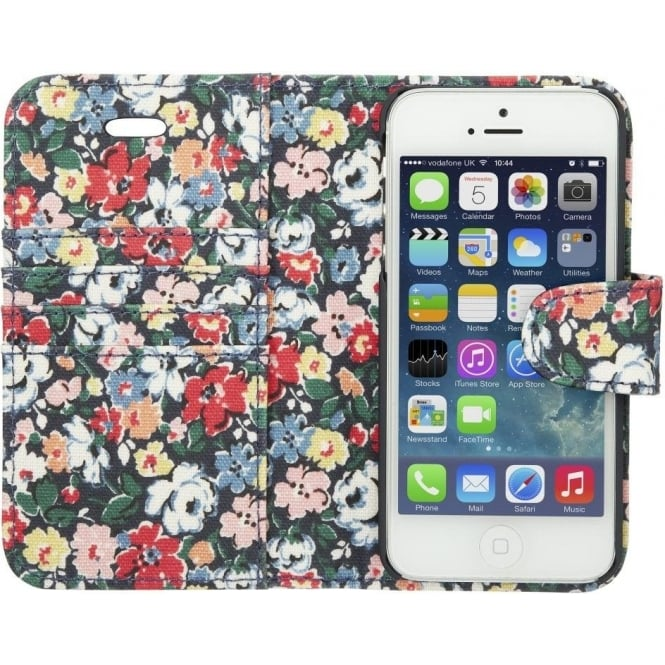 the best attitude d9476 f836b Ditsy Mews iPhone 5 Case with Card Holder