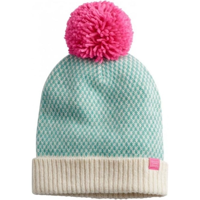 742c98591fef3 Joules Joules Womens Mable Knitted Bobble Hat - Cream