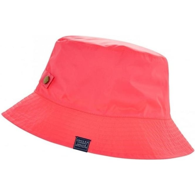 Joules Womens Neon Pink Rainyday Hat