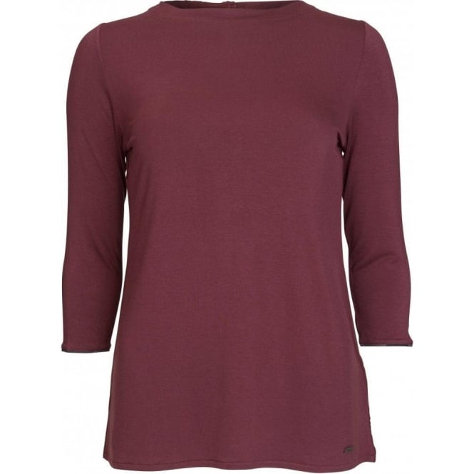 Barbour Dee Top, Bordeaux