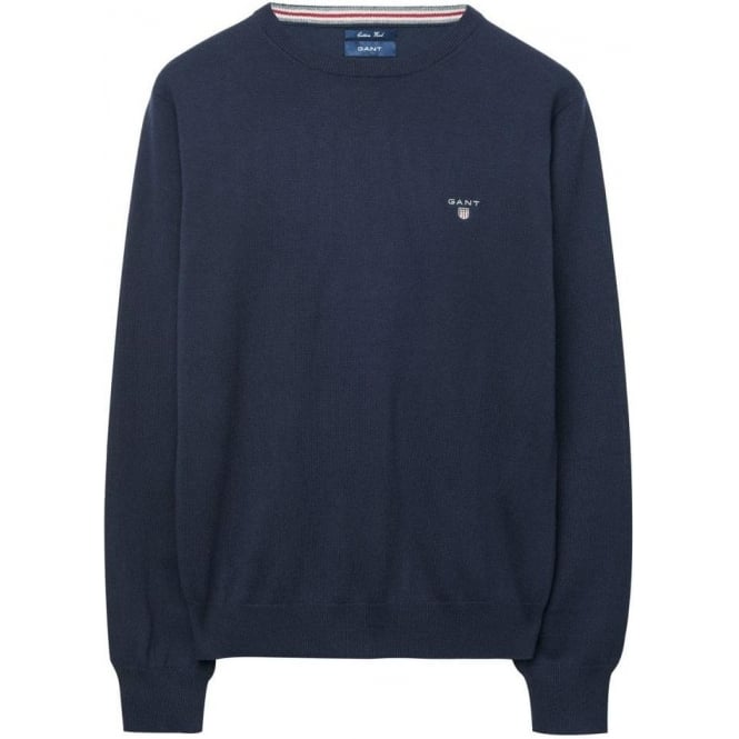 Gant Men's Crew Neck Jumper