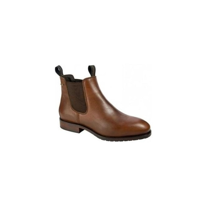 Dubarry Men's Kerry Leather Chelsea Ankle Boot Chestnut