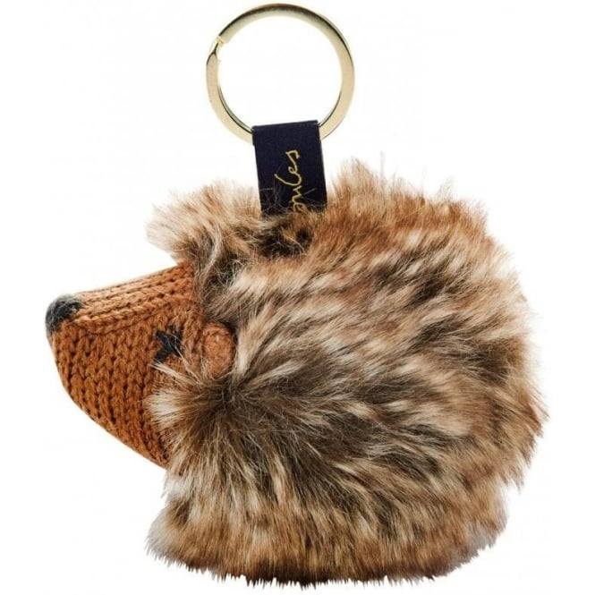 Joules Knitted Key Ring, Hedgehog