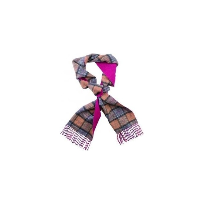 Barbour Double Faced Check Scarf