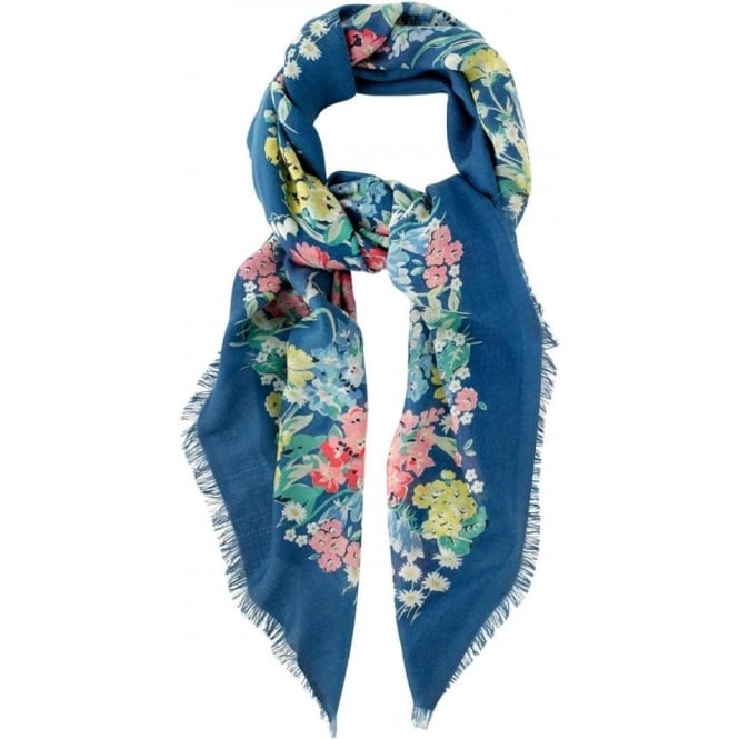 Cath Kidston Herbaceous Border Woven Printed Shawl