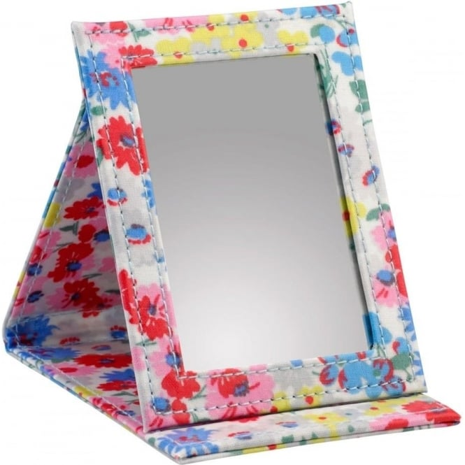 Cath Kidston Small Daisy Bed Stand Up Compact Mirror