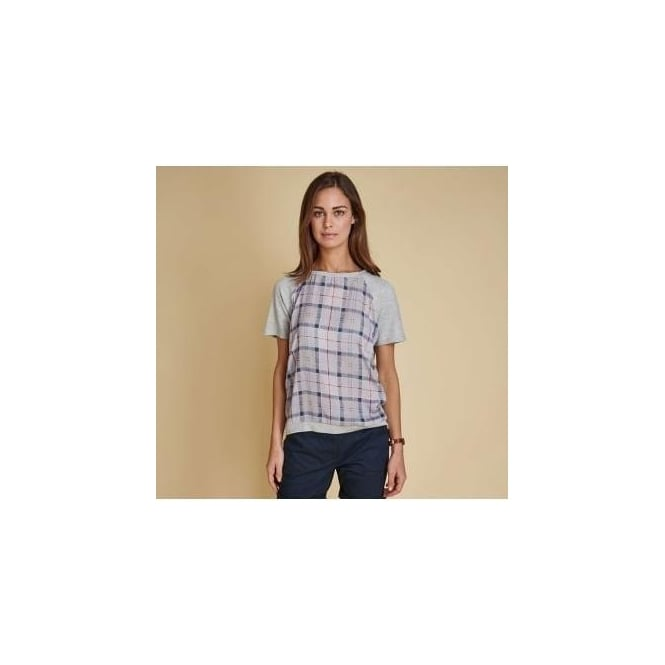 Barbour Womens Iona Tartan Top LML0435GY31