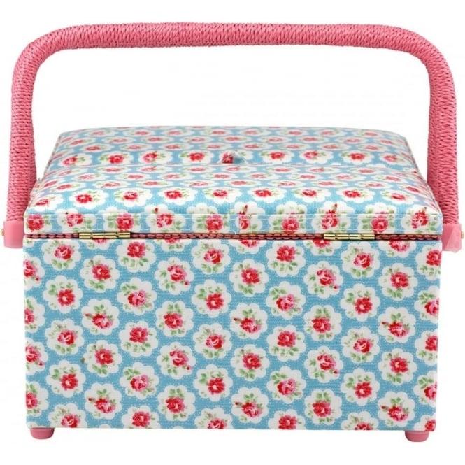 Cath Kidston Provence Rose Large Sewing Basket 539500