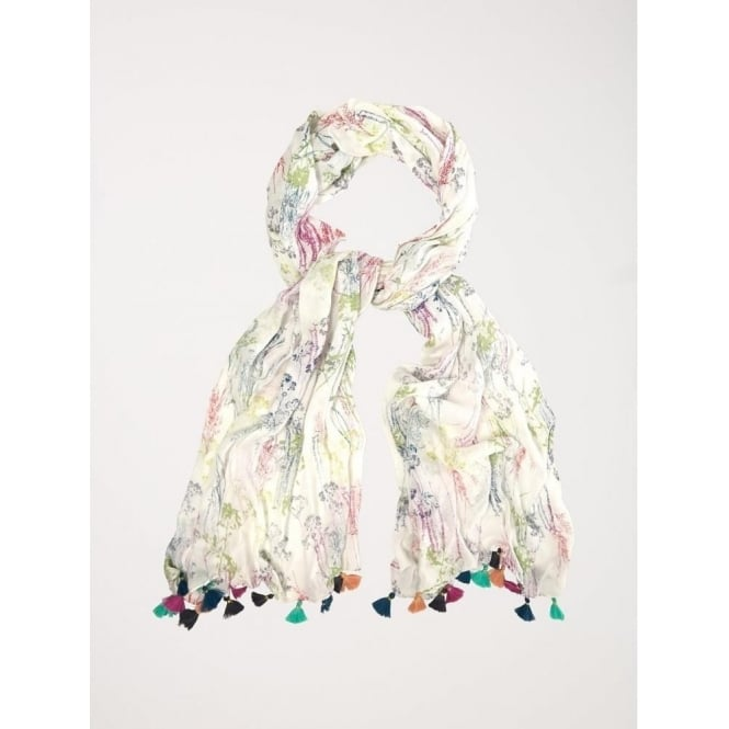 White Stuff Fragrant Meadow Scarf