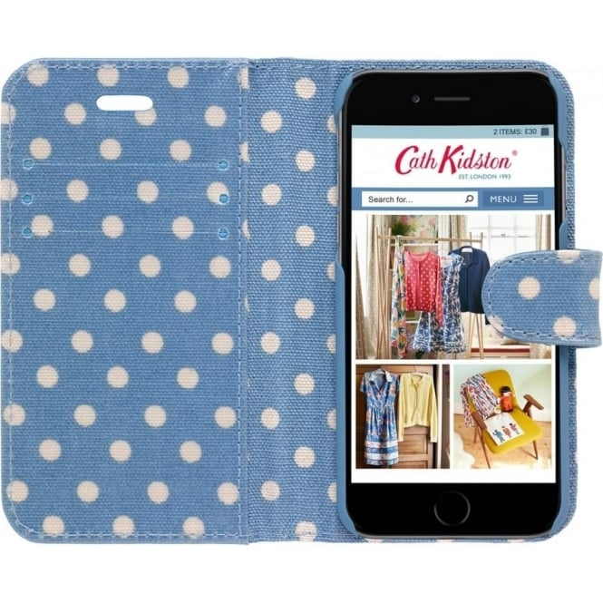 info for 4b605 8315a Cath Kidston Little Spot Iphone 6 Case with Card Holder