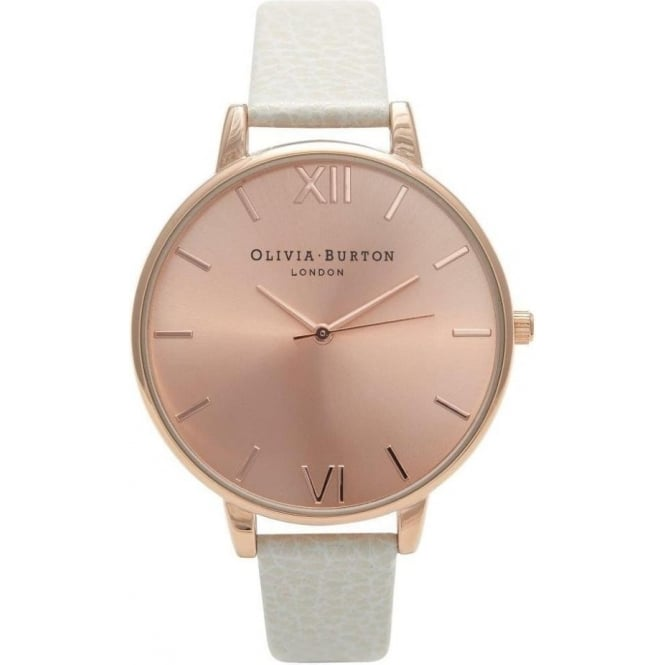 Olivia Burton Big Dial Mink and Rose Gold