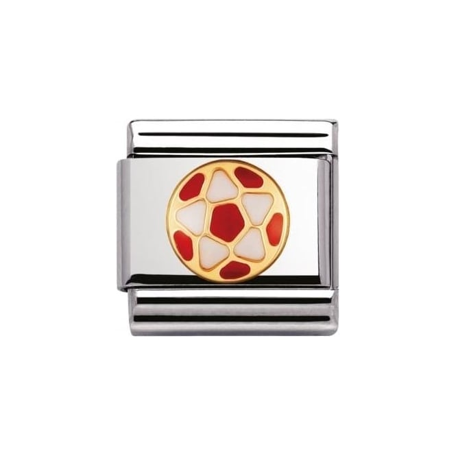 *NOMINATION ITALY Composable Classic Italian Football Red And White