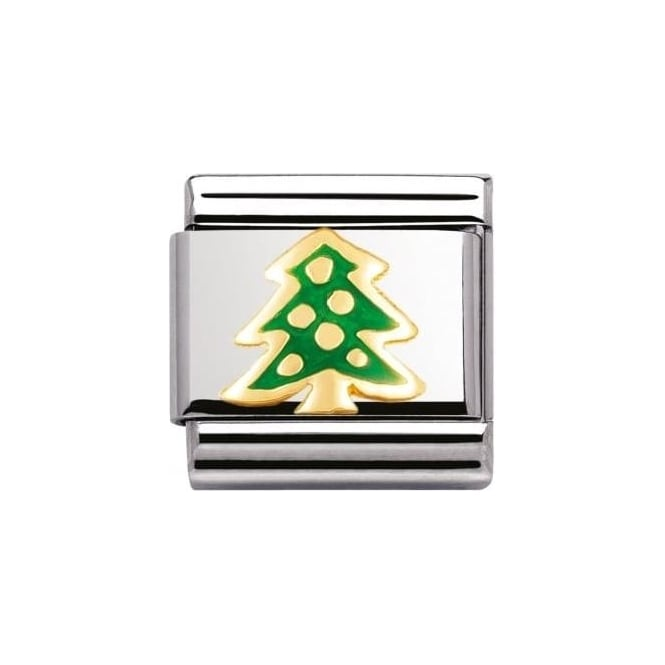 Nomination Composable Classic Link Relief Christmas Tree (030228/04)