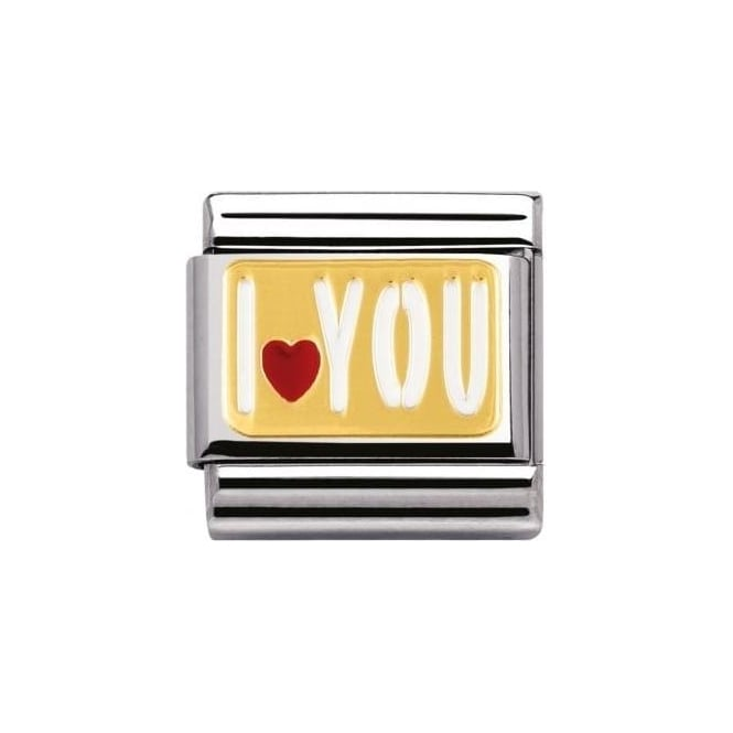 Nomination Composable Classic Messages I Heart You