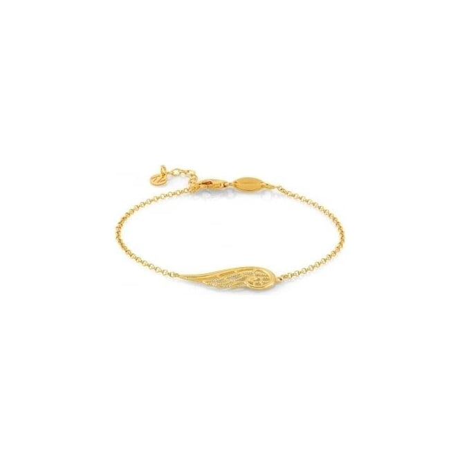 Nomination Angel Bracelet In Sterling Silver (Single) (012_Yellow Gold)