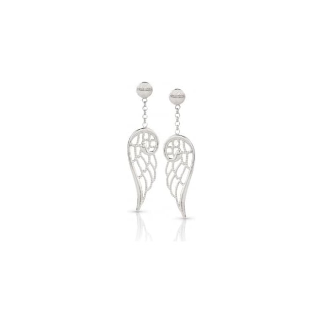 Nomination Angel Earrings In Sterling Silver (Small) (010_Silver)