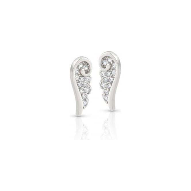 Nomination Angel Earrings In Sterling Silver With Cubic Zirconia (010_Silver)
