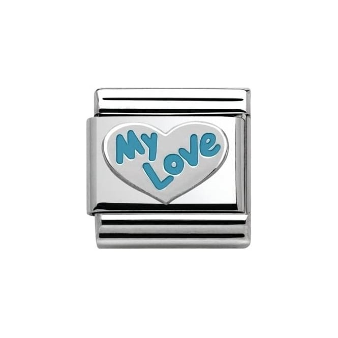 Nomination My Love Charm - Blue