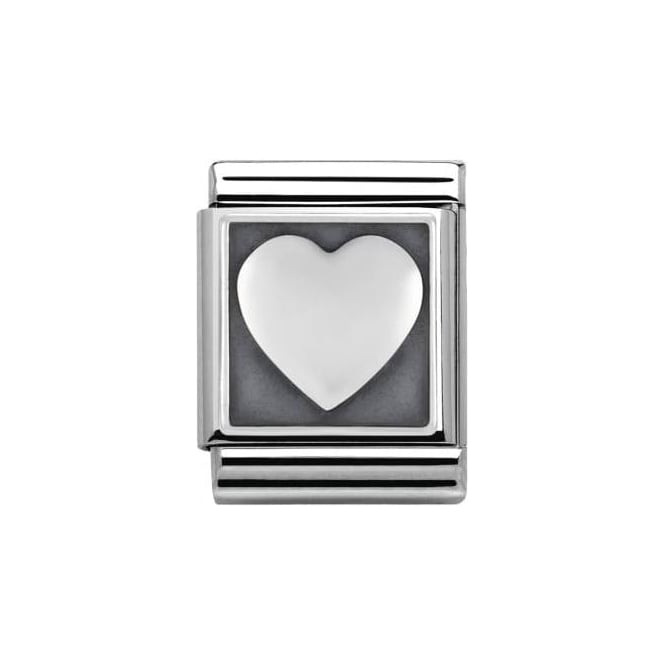 Nomination Heart Big Charm