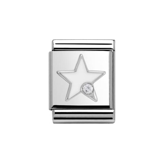 Nomination Star - White
